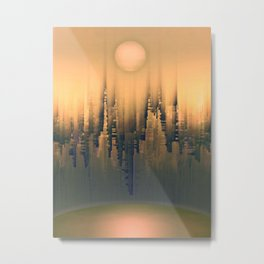 Reversible Space III Metal Print