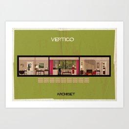 Vertigo_ Directed by Alfred Hitchcock Art Print