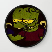 simpson Wall Clocks featuring Bart Simpson by Jide