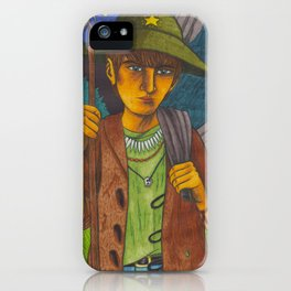 Mountain Child iPhone Case
