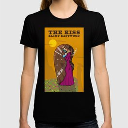 Klimt Eastwood - The Kiss T-shirt