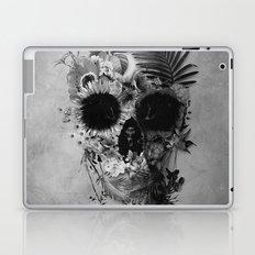 Garden Skull B&W Laptop & iPad Skin