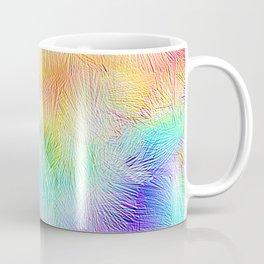 Blue Pastel Fireworks Coffee Mug