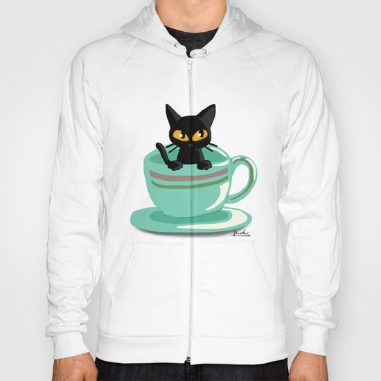 Cat in the cup Hoody