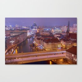 The Roofs Of Berlin Canvas Print