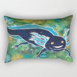 Navy Cosmic Astra-lotl Rectangular Pillow