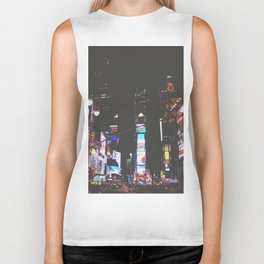 Evening Glow - Times Square Biker Tank