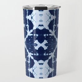 X Cloth Shibori Travel Mug