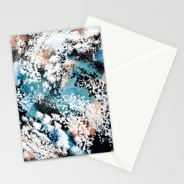 Oceana Abstract Stationery Cards