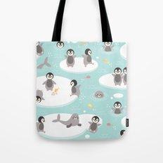 Penguins and seals Tote Bag