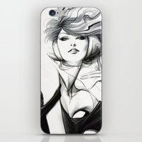 artgerm iPhone & iPod Skins featuring Pepper Bella by Artgerm™