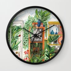 The Jungle Room Wall Clock