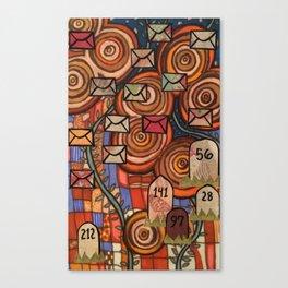 Mile 001 Canvas Print