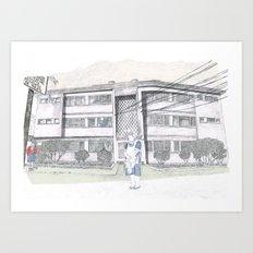 Cada casa necesita una Maria Art Print