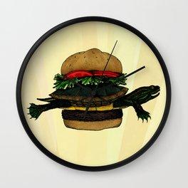 Turtle Sandwich Wall Clock