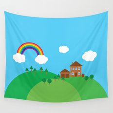We Love This Place Wall Tapestry