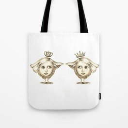 Siamese Queens Tote Bag