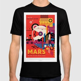 Mars - NASA Space Travel Poster T-shirt