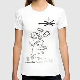 Quixotic Apes Tilt at Ceiling Fan T-shirt