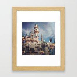 Sleeping Beauty's Castle Framed Art Print