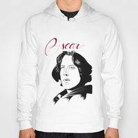 oscar wilde Hoodies featuring Oscar by beecharly