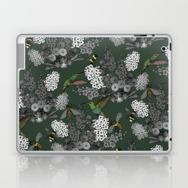 Hummingbirds and Bees (don't let them fade away) Laptop & iPad Skin