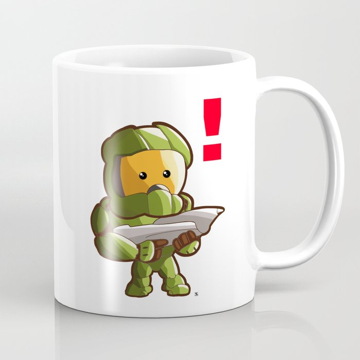 Chief Coffee Master Kawaii Mug By Steelartstudios Halo ZiuPTOkX