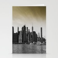 manhattan Stationery Cards featuring Manhattan by Forand Photography