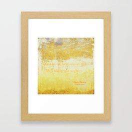 Golden Years Framed Art Print