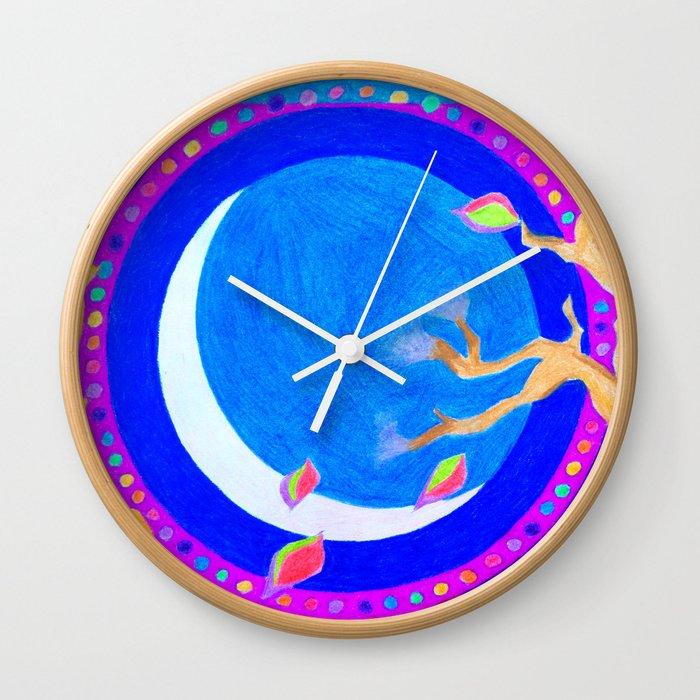 Seasons & Phases Wall Clock