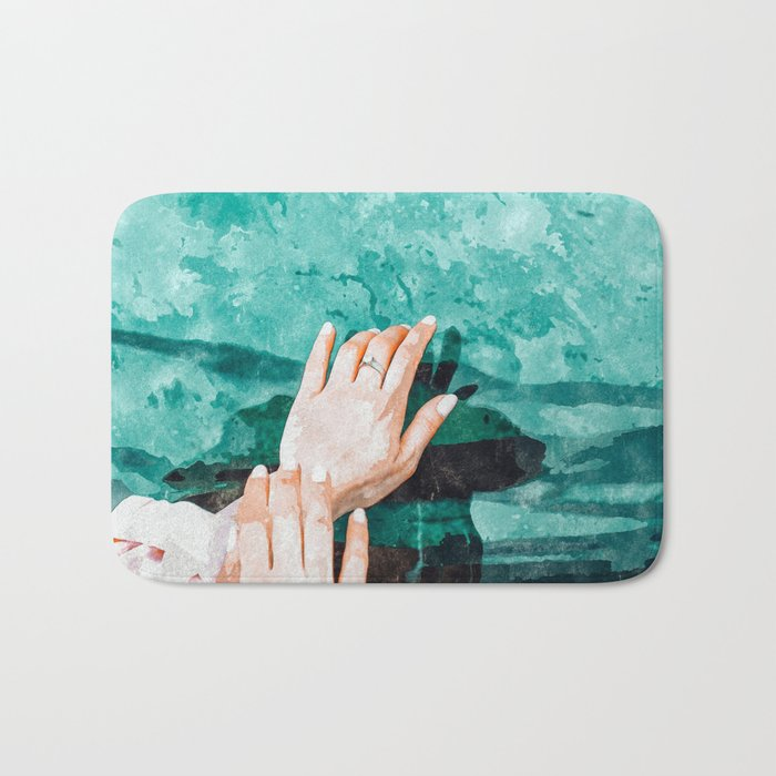 Holy Water Bath Mat