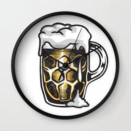 A Beer Mug Wall Clock