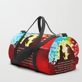 We Have Seen His Glory! Duffle Bag