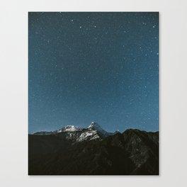 Annapurna Himalayas Canvas Print