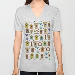 Bird Feeders Unisex V-Neck