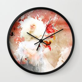 Moon at Noon Wall Clock