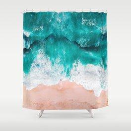 Ocean adventures -drone Shower Curtain