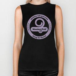 Monkey Tail Gear Logo - 002 Purple Biker Tank