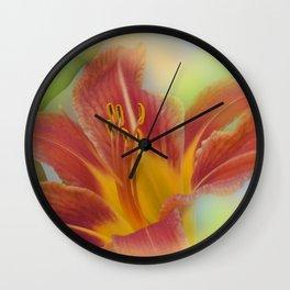 liking orange -03- Wall Clock