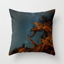 Golden Pine. Throw Pillow