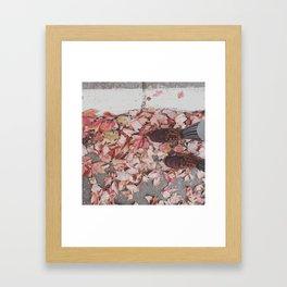 Autumn shades Framed Art Print