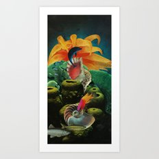 All The Colors Of The Deep Art Print