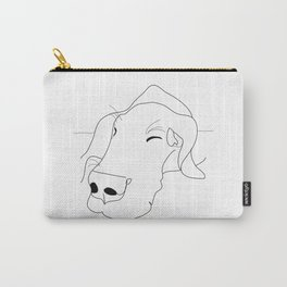 Great Dane Sketch Carry-All Pouch