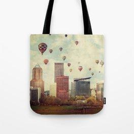 Portland Oregon Whimsy Tote Bag