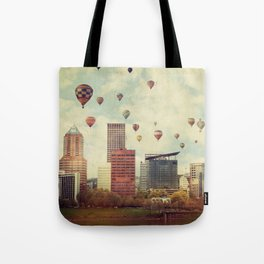 Portland Oregon Whimsy Tote Bag