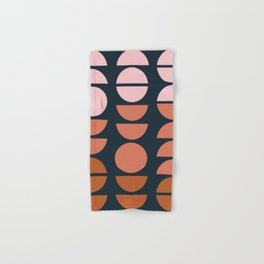 Modern Desert Color Shapes Hand & Bath Towel