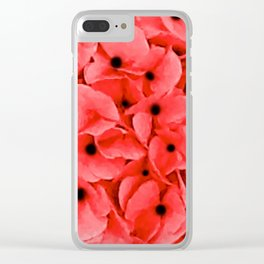 We Remember | Remembrance Day | Red Poppies | Nadia Bonello | Canada Clear iPhone Case