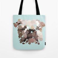bulldog Tote Bags featuring Bulldog by Glen Gould