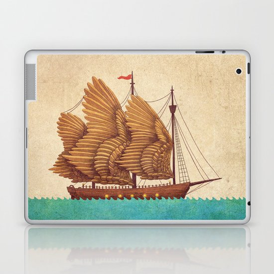 Winged Odyssey Laptop & iPad Skin