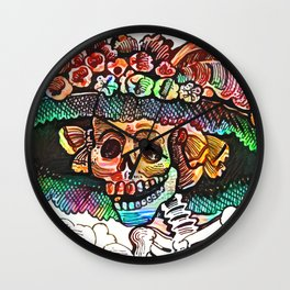 Katrina Guadalupe Wall Clock